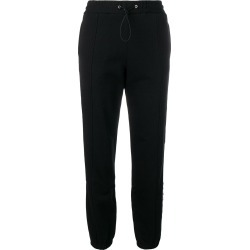 MSGM side logo stripe track pants - Black found on Bargain Bro UK from FarFetch.com- UK