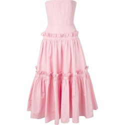 Alex Perry ruffle trimmed dress - Pink found on MODAPINS from FarFetch.com- UK for USD $4374.23