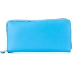 Comme Des Garçons Wallet 'Colour Plain' wallet - Blue found on MODAPINS from FARFETCH.COM Australia for USD $223.08
