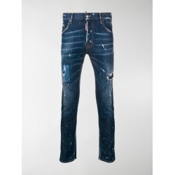 Dsquared2 distressed skinny jeans found on Bargain Bro India from stefania mode for $650.00