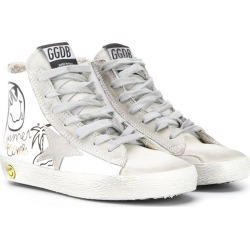 Golden Goose Kids Francy sneakers - White found on Bargain Bro UK from FarFetch.com- UK