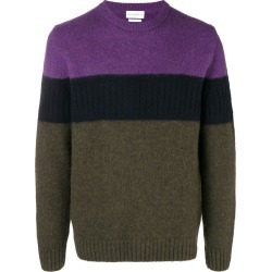 Ballantyne colour block sweater - Green found on MODAPINS from FarFetch.com- UK for USD $325.16