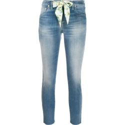 Jacob Cohen Kimberly cropped jeans - Blue found on MODAPINS from FARFETCH.COM Australia for USD $487.99