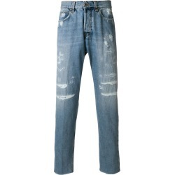 Eleventy slim distressed jeans - Blue found on MODAPINS from FarFetch.com- UK for USD $199.50