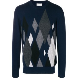 Ballantyne argyle knit sweater - Blue found on MODAPINS from FarFetch.com- UK for USD $584.52