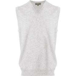 N.Peal cashmere The Westminster vest - Grey