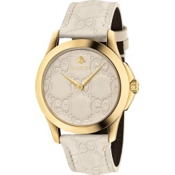 Gucci G-Timeless 38mm watch - NEUTRALS found on Bargain Bro UK from FarFetch.com- UK