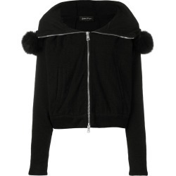 Andrea Ya'aqov hooded zip up jacket - Black found on MODAPINS from FarFetch.com- UK for USD $1022.23