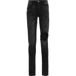 Amiri slim-fit distressed jeans - Black found on MODAPINS from FarFetch.com- UK for USD $799.40