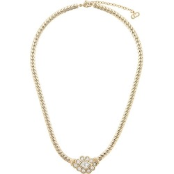Christian Dior Vintage snake chain necklace - Gold