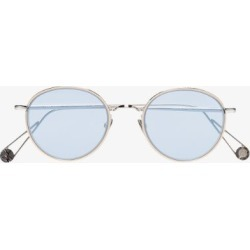 Ahlem Mens Blue/metallic 22k Gold-plated Place De L'opera Sunglasses found on Bargain Bro UK from Browns Fashion