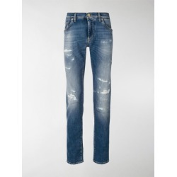 Dolce & Gabbana distressed jeans found on Bargain Bro India from stefania mode for $967.00