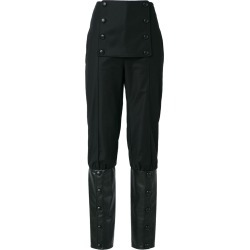 Adriana Degreas high waist trousers - Black found on MODAPINS from FarFetch.com - US for USD $324.00
