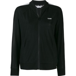 DKNY jersey track jacket - Black found on MODAPINS from FARFETCH.COM Australia for USD $107.55