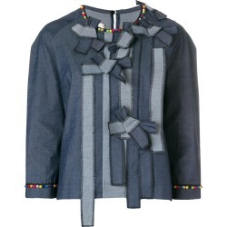 Antonio Marras bow front denim top - Blue found on MODAPINS from FarFetch.com- UK for USD $424.31