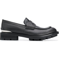 Alexander McQueen chunky heel loafers - Black found on Bargain Bro UK from FarFetch.com- UK