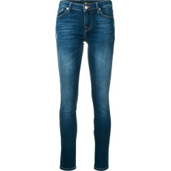 7 For All Mankind washed distressed skinny jeans - Blue found on MODAPINS from FarFetch.com- UK for USD $294.12