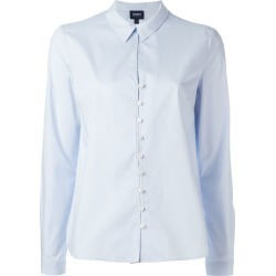 Armani Jeans plain shirt - Blue found on MODAPINS from FarFetch.com- UK for USD $137.13