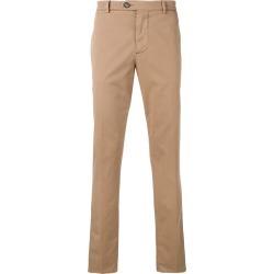Brunello Cucinelli straight-leg trousers - Brown