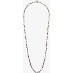 Saint Laurent Mens Silver Tone Little Rope Chain Necklace found on Bargain Bro UK from Browns Fashion