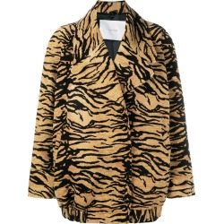 Adam Lippes tiger print jacket - Brown found on MODAPINS from FarFetch.com - US for USD $1230.00
