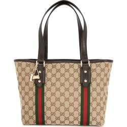 Gucci Vintage Shelly GG supreme tote - Brown found on MODAPINS from FARFETCH.COM Australia for USD $1387.07