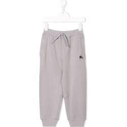 Burberry Kids Cotton Jersey Trackpants - Grey