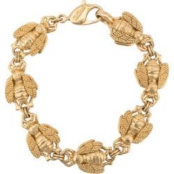 Christian Dior Vintage 80's bees bracelet - Gold