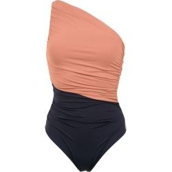 Brigitte Sandra one shoulder swimsuit - Neutrals