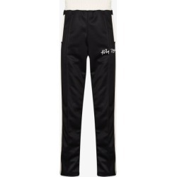 Palm Angels Mens Black Logo Print Track Trousers found on Bargain Bro UK from Browns Fashion