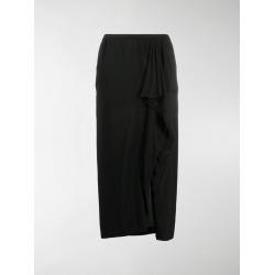 Rick Owens draped front slit skirt found on Bargain Bro UK from MODES GLOBAL