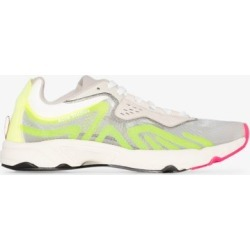 Acne Studios Womens Grey Acne Buzz Lt Lcup Runner Snkr W Neon found on MODAPINS from Browns Fashion for USD $417.45