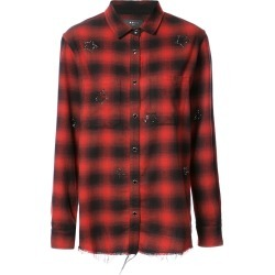 Amiri Crystal checked flannel shirt - Red found on MODAPINS from FarFetch.com- UK for USD $848.50