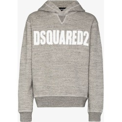 Dsquared2 Mens Grey Vertical Logo Hoodie found on MODAPINS from Browns Fashion for USD $619.65