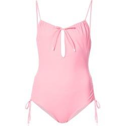 Kisuii keyhole one piece swimsuit - Pink & Purple