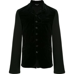 Ann Demeulemeester velvet button jacket - Black found on MODAPINS from FarFetch.com - US for USD $519.00