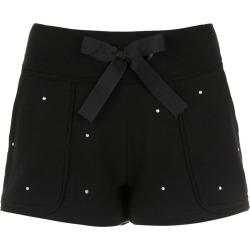 Andrea Bogosian apliqué sweatshorts - Black found on MODAPINS from FarFetch.com - US for USD $133.00