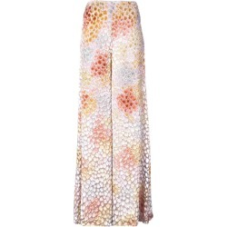 Adam Lippes painted wide-leg trousers - White found on MODAPINS from FarFetch.com - US for USD $1990.00