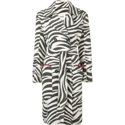 Bazar Deluxe zebra print coat - Black found on MODAPINS from FarFetch.com - US for USD $525.00