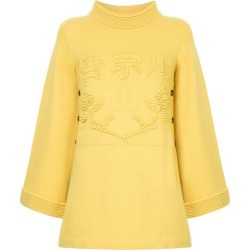 Chanel Vintage CC logo long-sleeve sweater - Yellow found on MODAPINS from  FarFetch. 35fca0e10