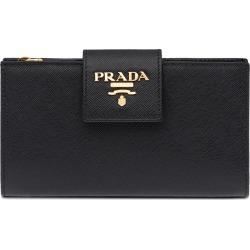 Prada medium wallet - Black found on Bargain Bro UK from FarFetch.com- UK