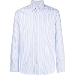 Barba striped classic shirt - White found on MODAPINS from FARFETCH.COM Australia for USD $162.43