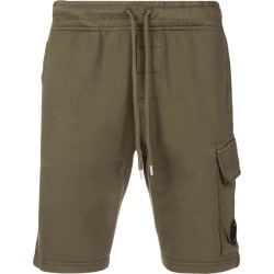 CP Company slim-fit lens shorts - Green found on Bargain Bro UK from FarFetch.com- UK