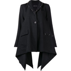 Barbara Bologna flared long-sleeved coat - Grey found on MODAPINS from FarFetch.com- UK for USD $677.47