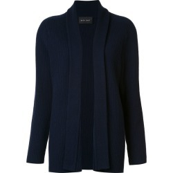 Baja East shawl lapel ribbed cardigan - Blue found on MODAPINS from FarFetch.com- UK for USD $2579.88