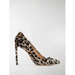 Francesco Russo leopard print asymmetric pumps found on MODAPINS from stefania mode for USD $269.00