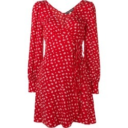Alexa Chung floral wrap dress - Red found on MODAPINS from FarFetch.com - US for USD $338.00