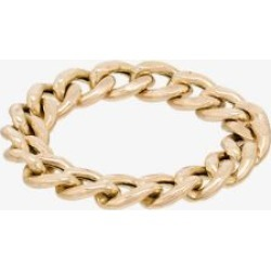 Zoe Chicco Womens 14k Yellow Gold Chain Ring found on Bargain Bro UK from Browns Fashion