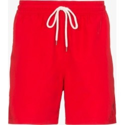 Polo Ralph Lauren Mens Red Traveller Drawstring Swim Shorts found on Bargain Bro UK from Browns Fashion