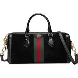 ed5d279565b Gucci Ophidia medium top handle bag - Black found on MODAPINS from  FarFetch.com -
